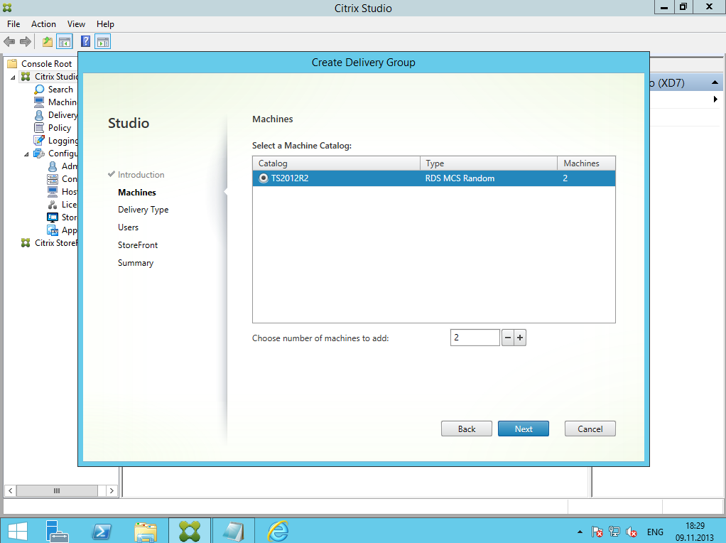 Citrix XenDesktop 7 Delivery Group 03