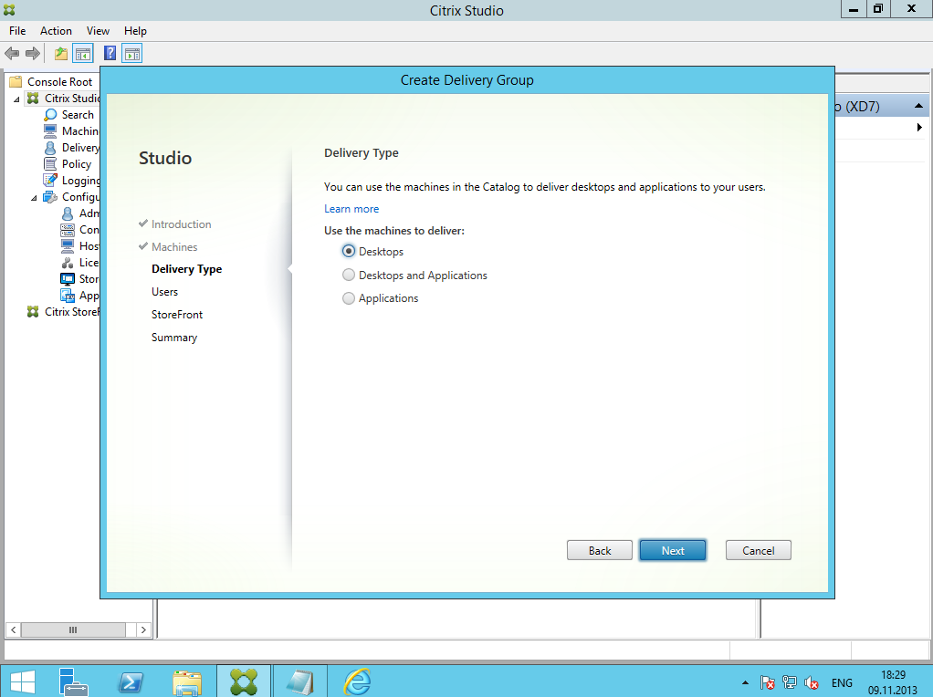 Citrix XenDesktop 7 Delivery Group 04