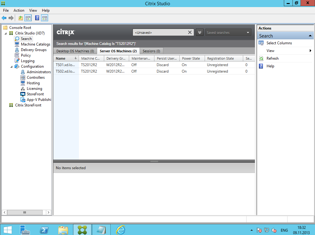 Citrix XenDesktop 7 Delivery Group 11