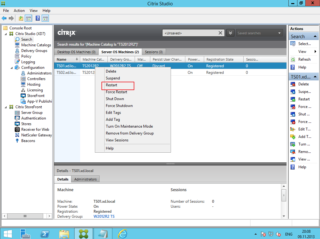 Citrix XenDesktop 7 Soft Installing 023