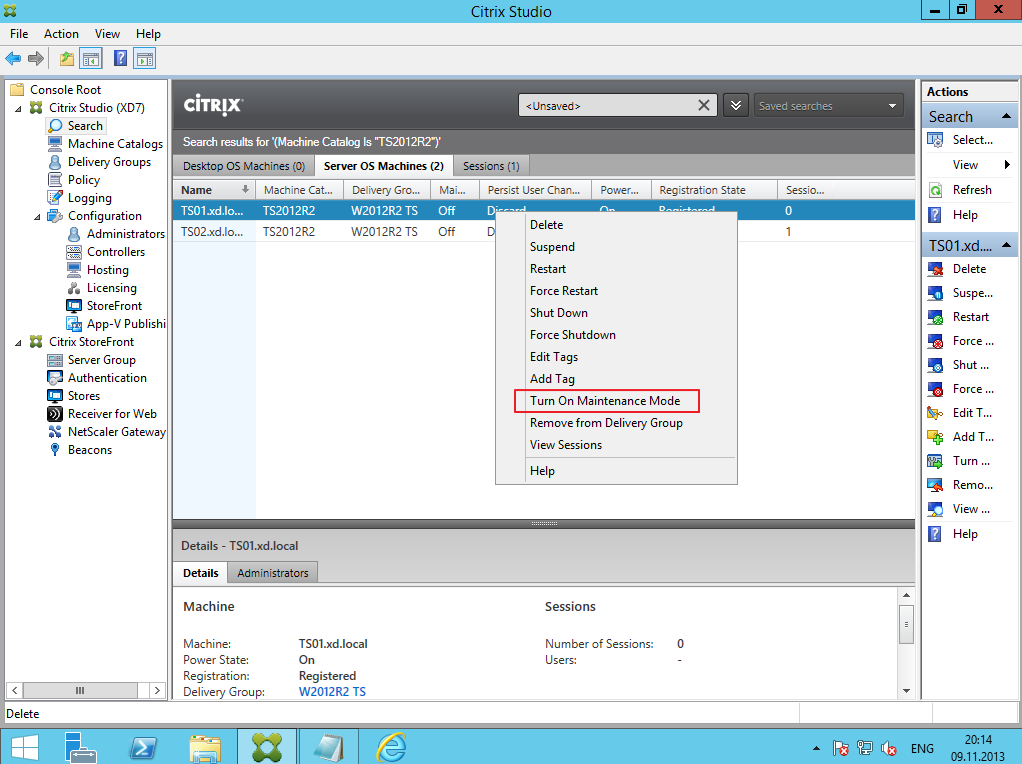 Citrix XenDesktop 7 Soft Installing 025