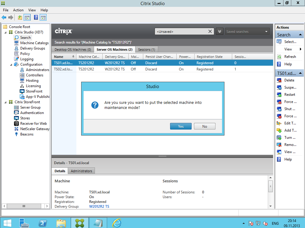 Citrix XenDesktop 7 Soft Installing 026