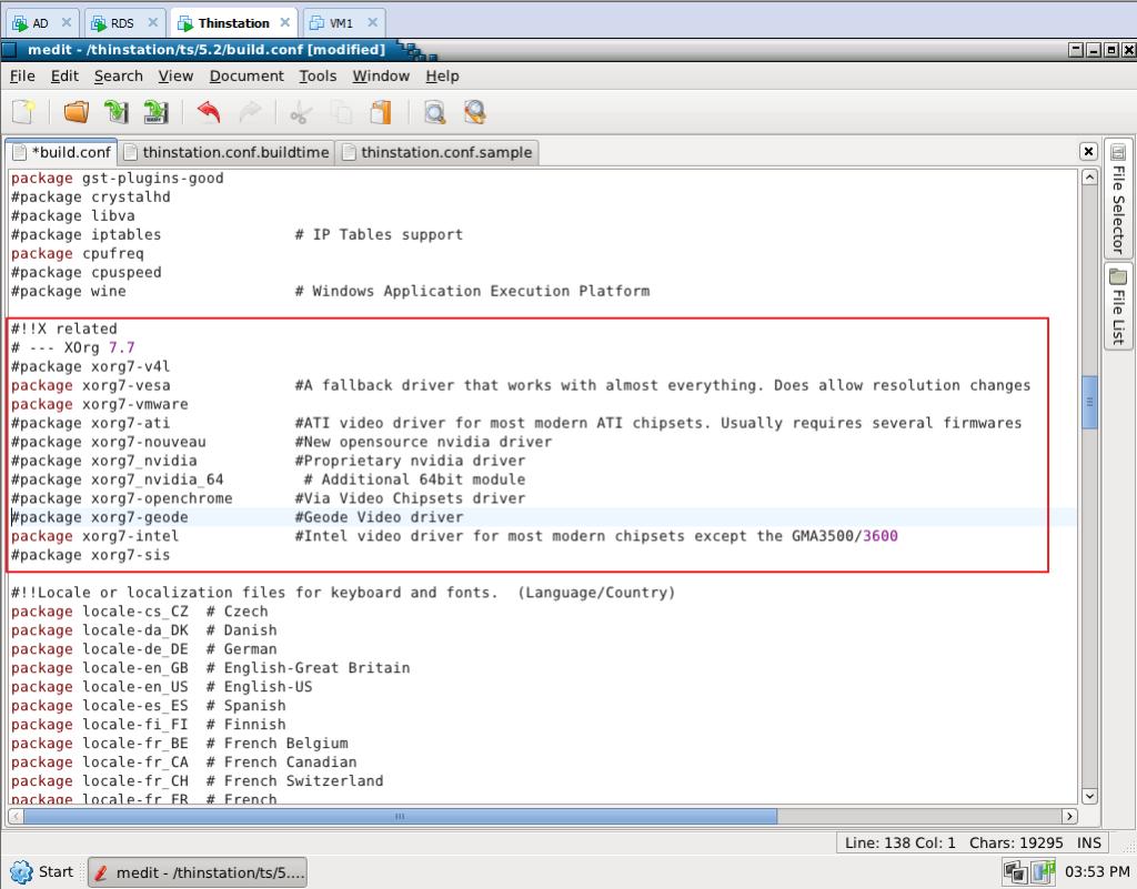Xorg conf use Intel driver - Cige